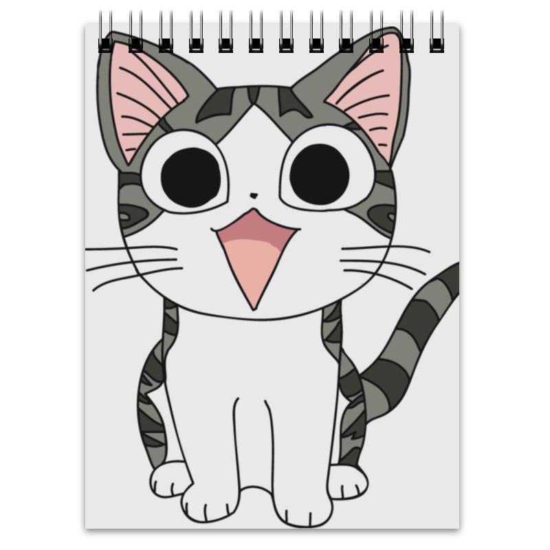 Блокнот Printio Котёнок чии котёнок и сева с тополя