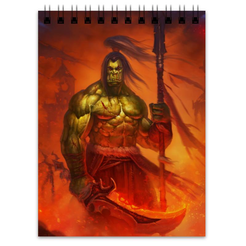 Блокнот Printio Warcraft collection эспадрильи zenden collection zenden collection ze012agpre18