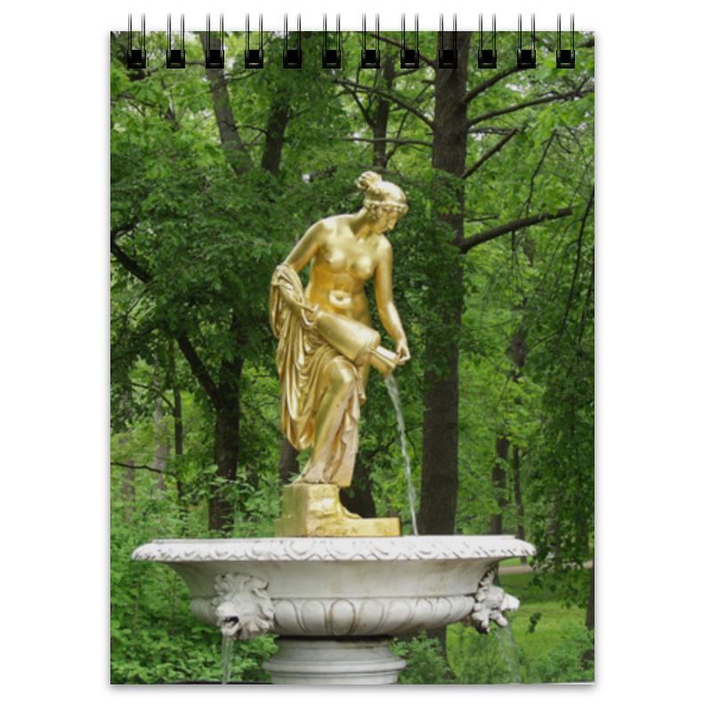 Блокнот Printio Нимфа россия скульптура кремлевский солдат каслинское литьё