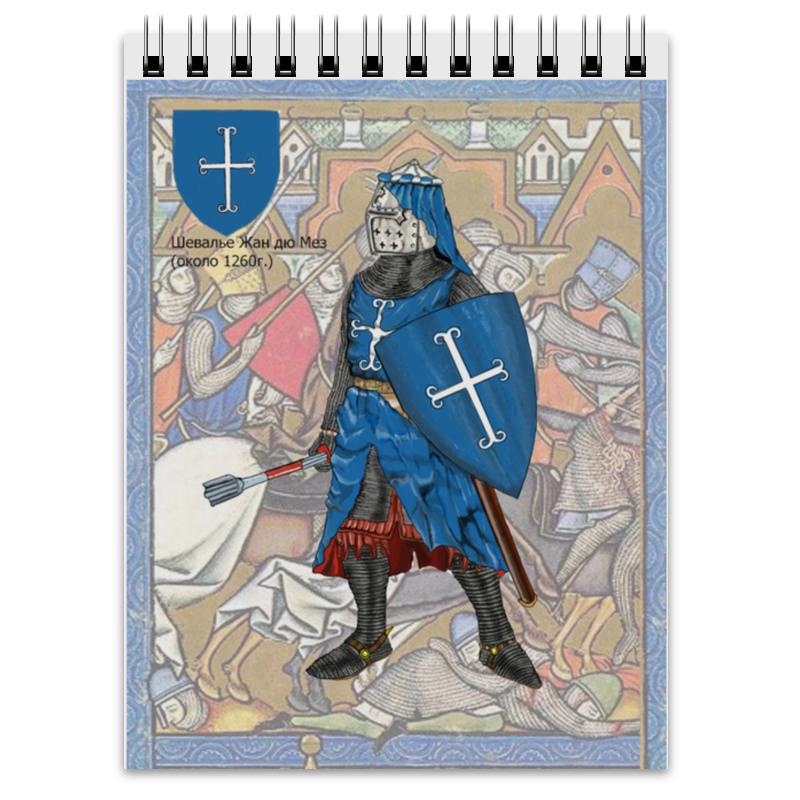 Блокнот Printio Воины средневековья,13 век.(европа) европа миниатюра crystocraft два сердца u0037 001 cvl