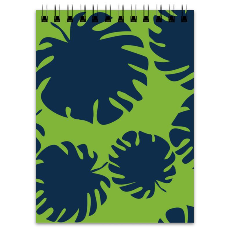 Блокнот Printio Тропические листья