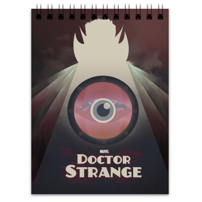 Блокнот Printio Доктор стрэндж цена 2017