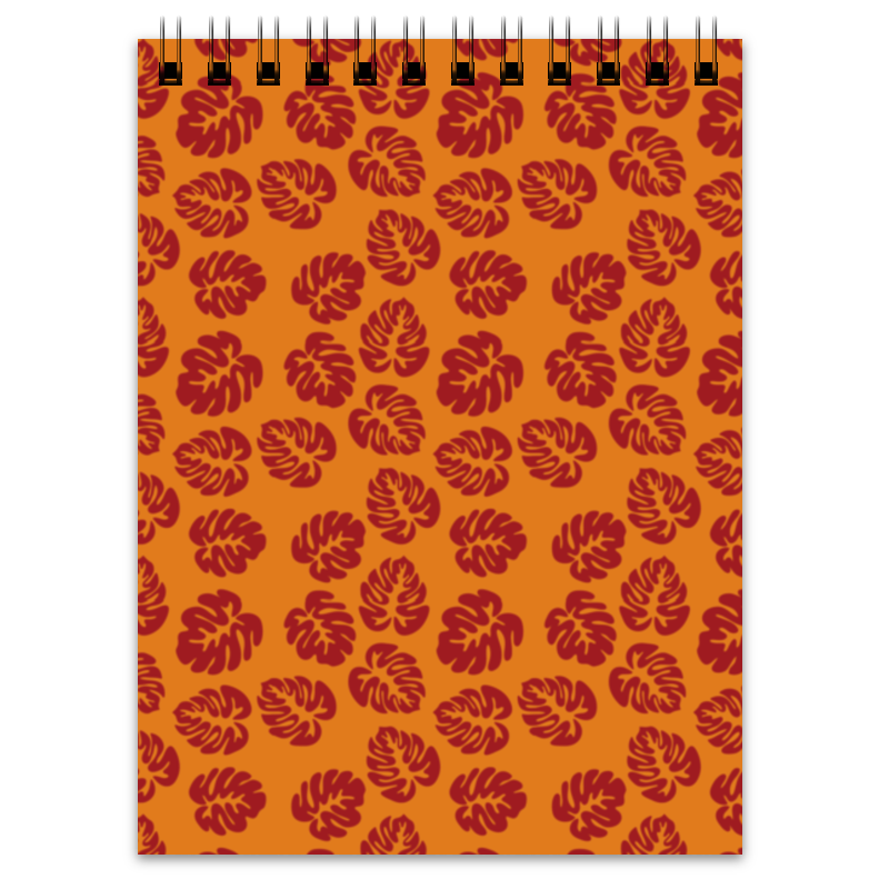 Блокнот Printio Оранжевый блокнот кассета цвет черный оранжевый 003235