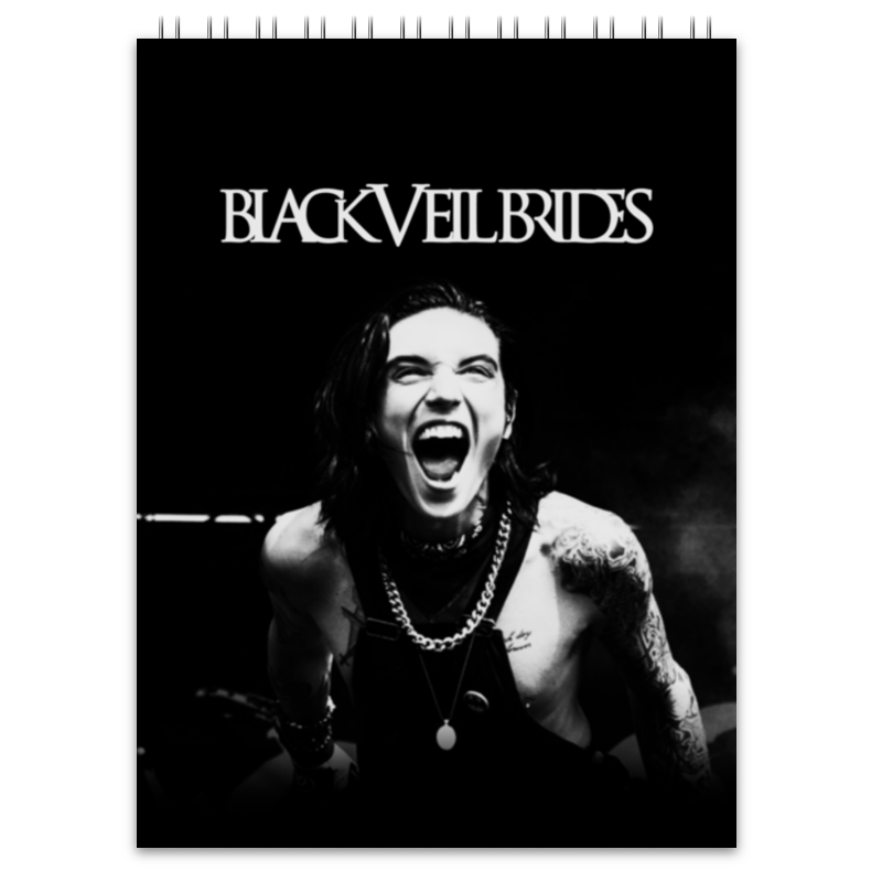 Блокнот Printio Black veil brides