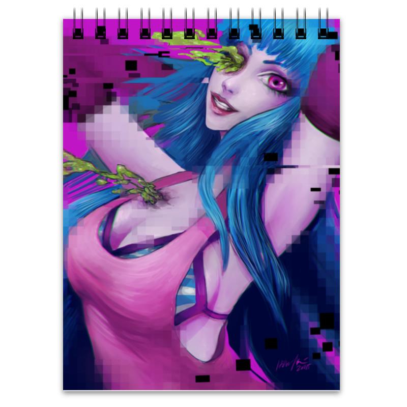 Блокнот Printio Pixel girl самокат trolo pixel