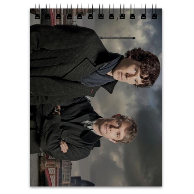Блокнот Printio Шерлок и джон