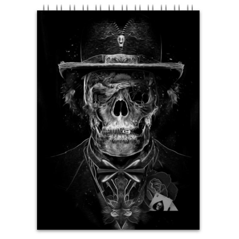 Блокнот Printio Mr. skull блокнот printio king skull