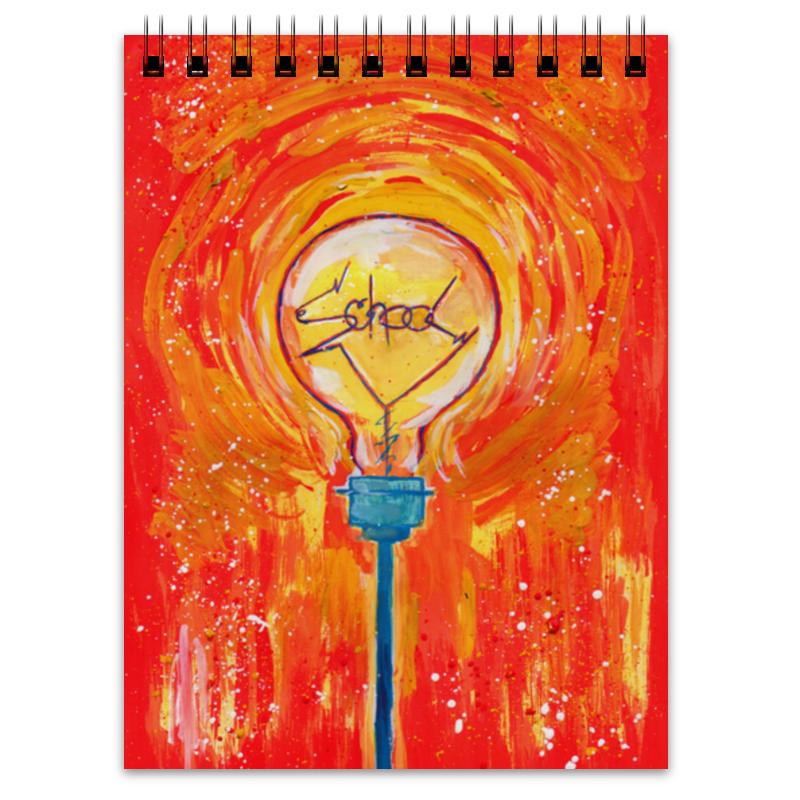 Блокнот Printio School лампочка криптоновая maglite к арт s4 в блистере 947261