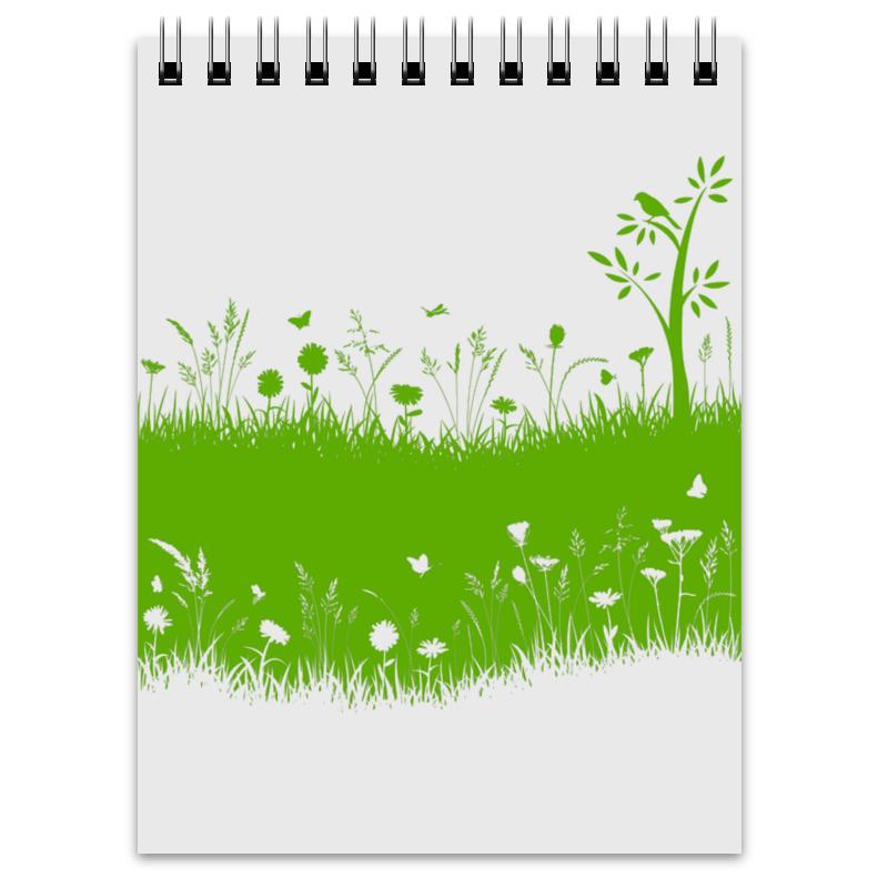 Блокнот Printio Летняя трава