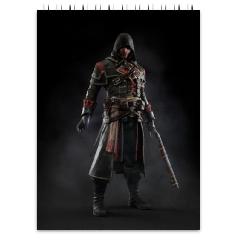 Блокнот Printio Assassins creed (rogue)