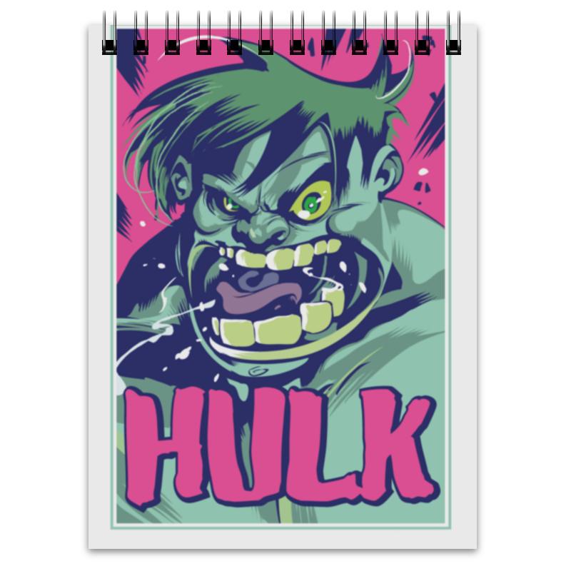 Блокнот Printio Халк (hulk) блокнот printio прогулки по городу