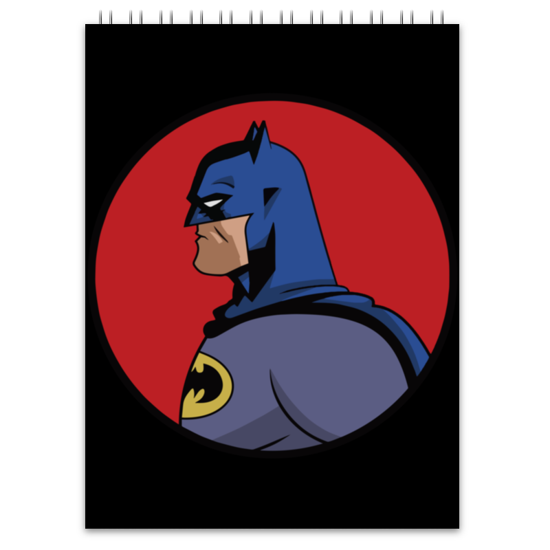 Блокнот Printio Batman / бэтмен лонгслив printio ice king x batman
