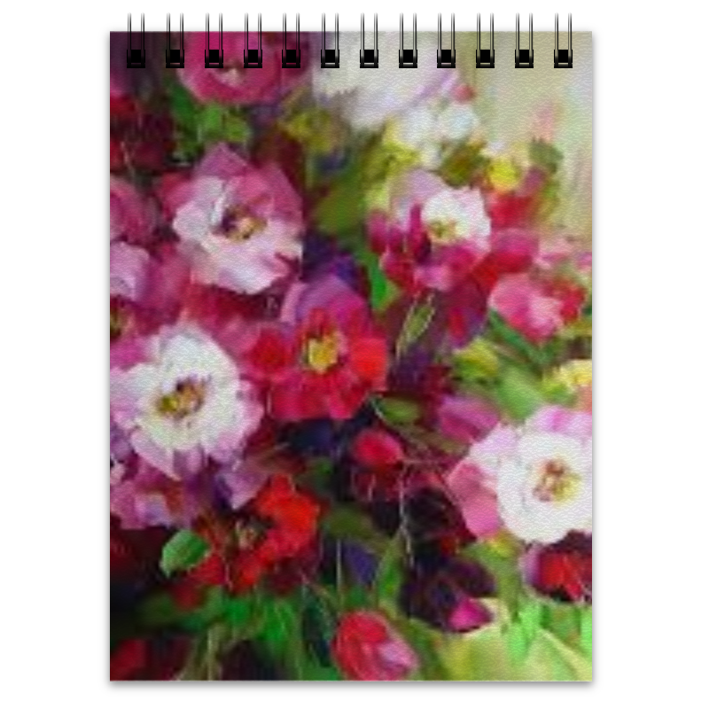 Блокнот Printio Цветы блокнот блокнот 162x210 мм 144 стр лин