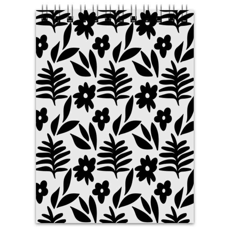 Printio Черно-белые цветы недорго, оригинальная цена