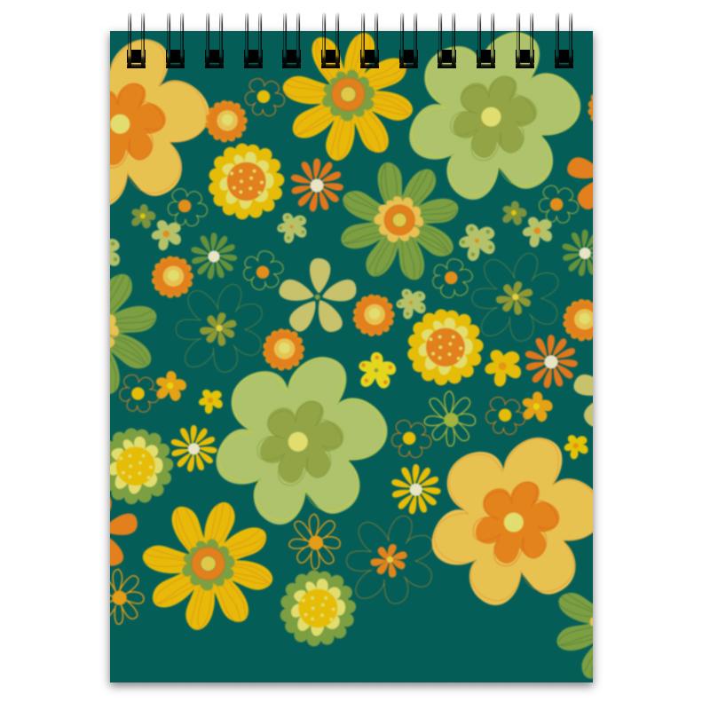 Блокнот Printio Хиппи блокнот кофемана нежные цветы