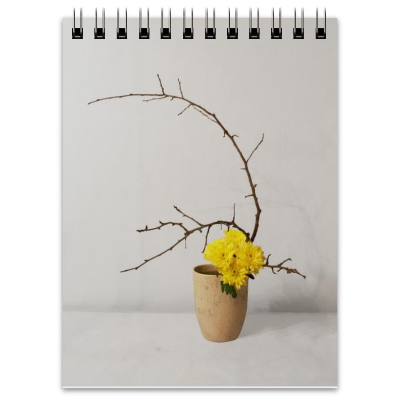 Блокнот Printio Блокнот икебана / ikebana блокнот printio композиция цветов