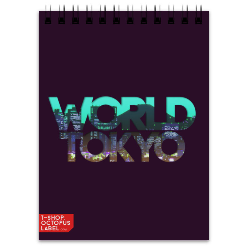 Блокнот Printio different world: tokyo блокнот printio different world madrid
