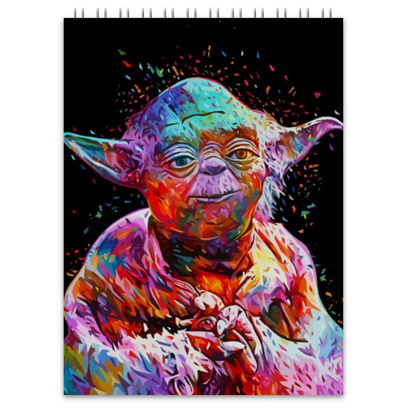 Блокнот Printio Йода (yoda) лонгслив printio магистр йода