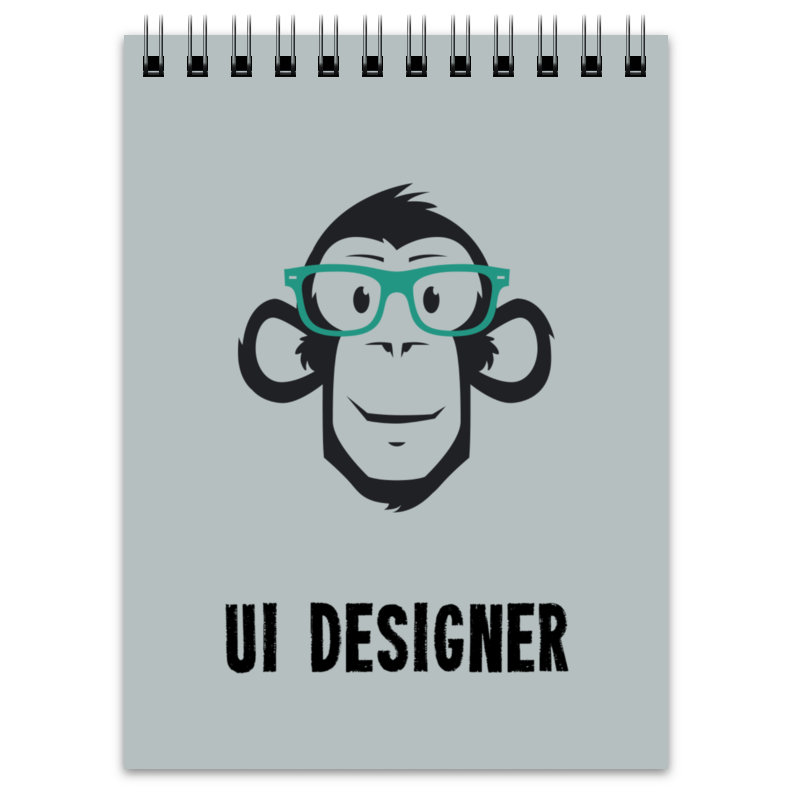 Блокнот Printio Ui designer