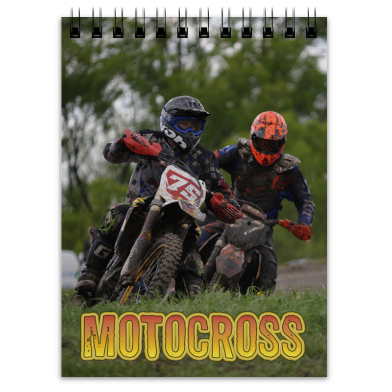 Блокнот Printio Motocross