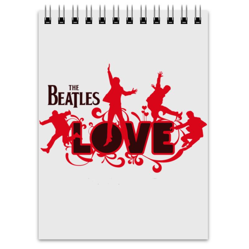 Блокнот Printio Beatles beatles beatles anthology 3 3 lp