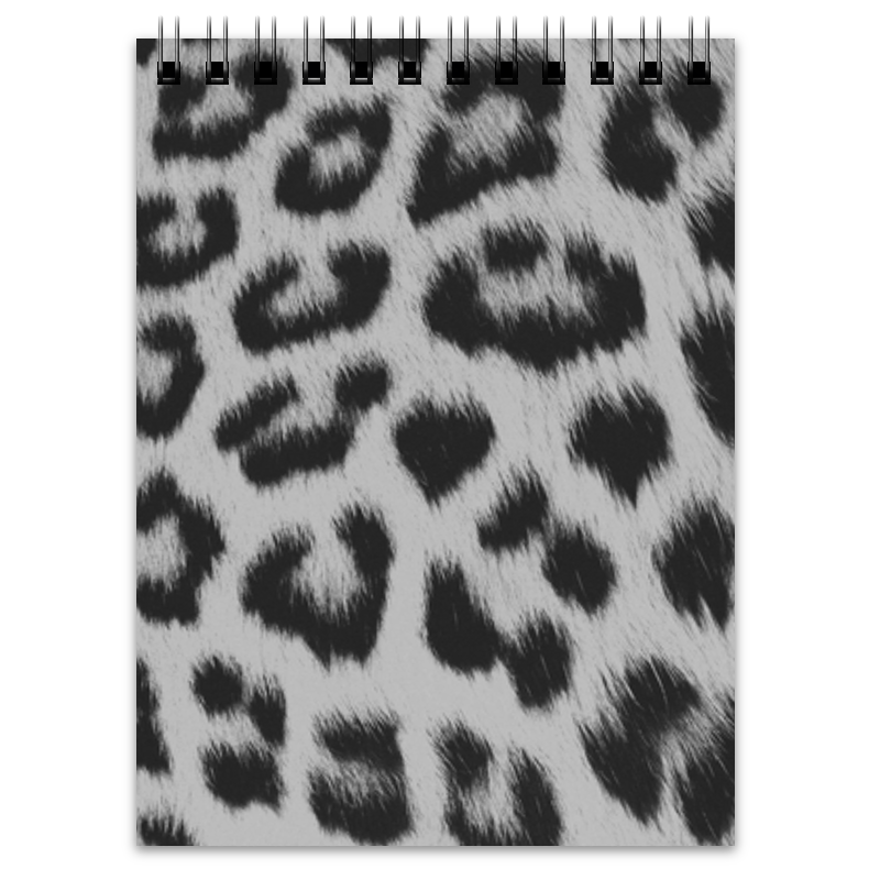 Блокнот Printio Leopard stylish colorful leopard pattern square shape flax pillowcase without pillow inner