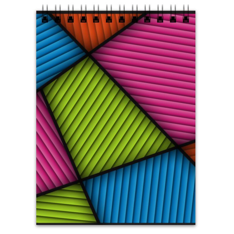 Блокнот Printio Цветная абстракция блокнот printio блокнот коловрат