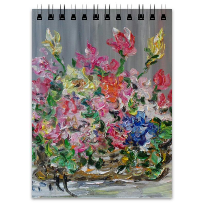 Блокнот Printio Букет картины сирень картина ароматный букет