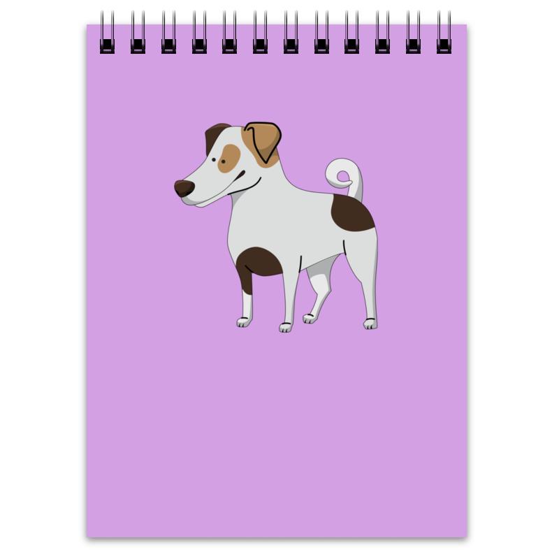 Блокнот Printio Джек рассел.собака футболка стрэйч printio матрешка скелет