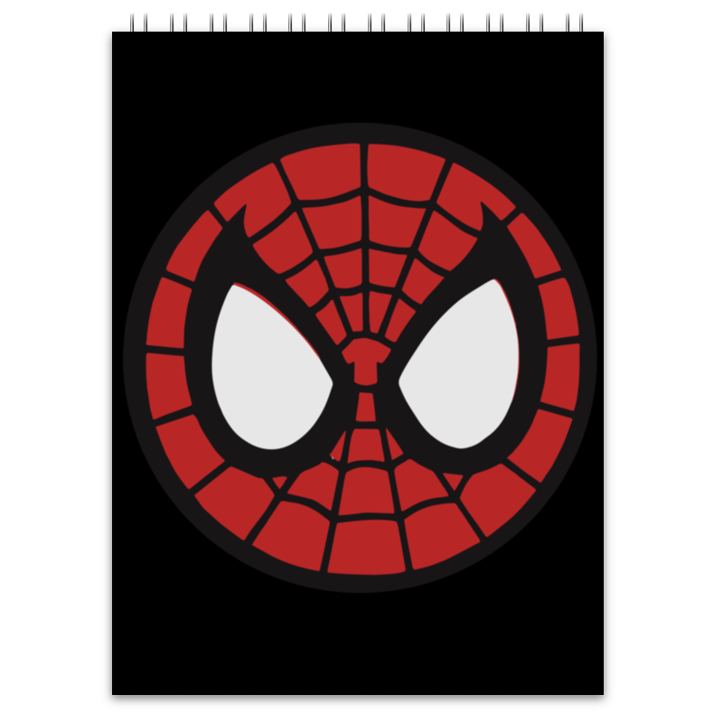 Блокнот Printio Spider-man / человек-паук цена