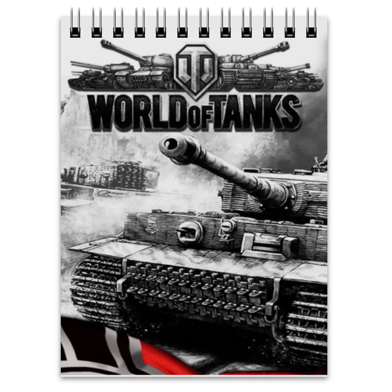 Блокнот Printio World of tanks printio блокнот