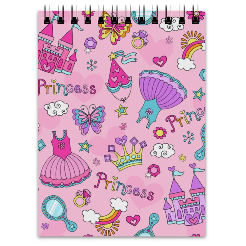 Блокнот Printio Принцесса