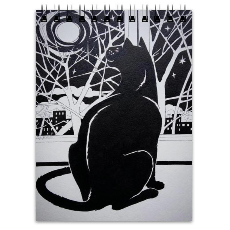 Блокнот Printio Кошка и луна блокнот printio кошка