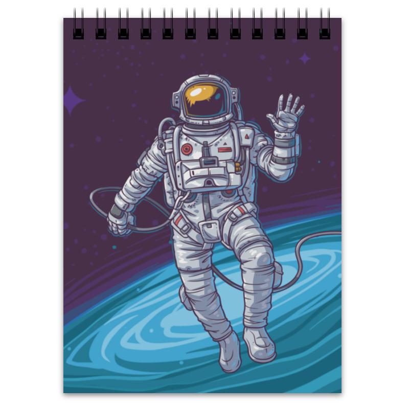 Блокнот Printio Привет из космоса привет пока