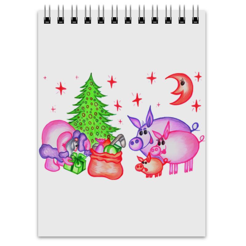 Блокнот Printio Внезапная встреча открытка printio новогодняя игрушка
