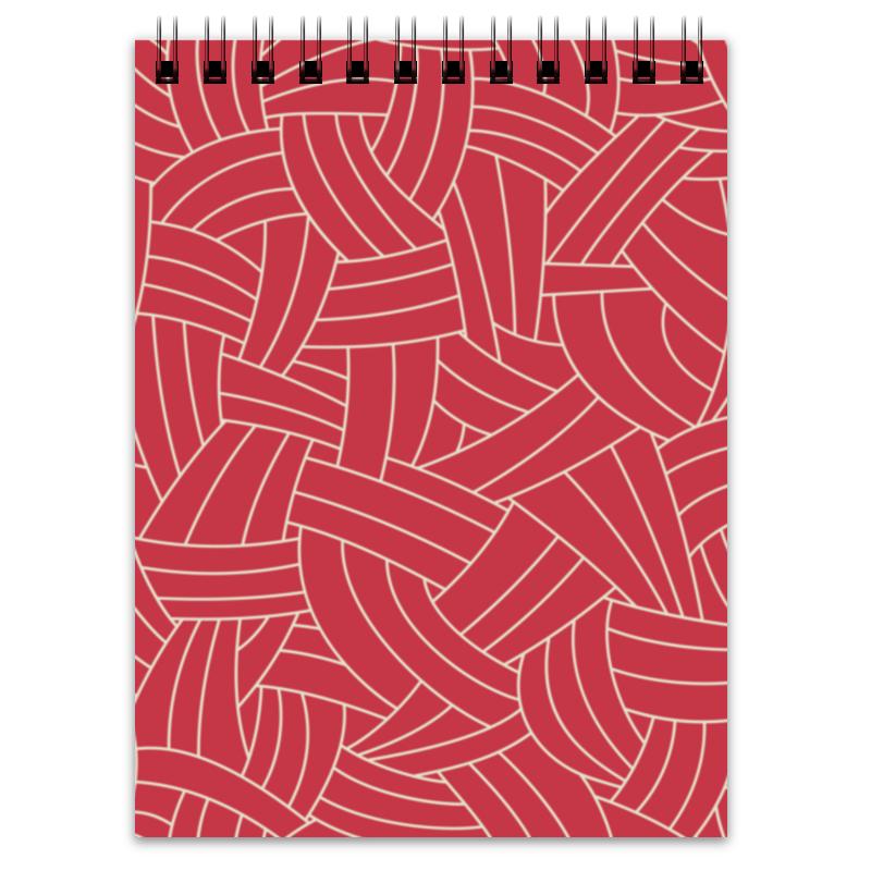 Блокнот Printio Красная абстракция блокнот printio красная роза
