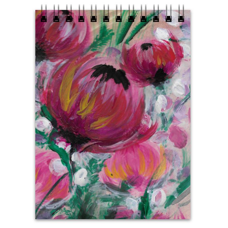 Блокнот Printio Полевые цветы блокнот кофемана нежные цветы