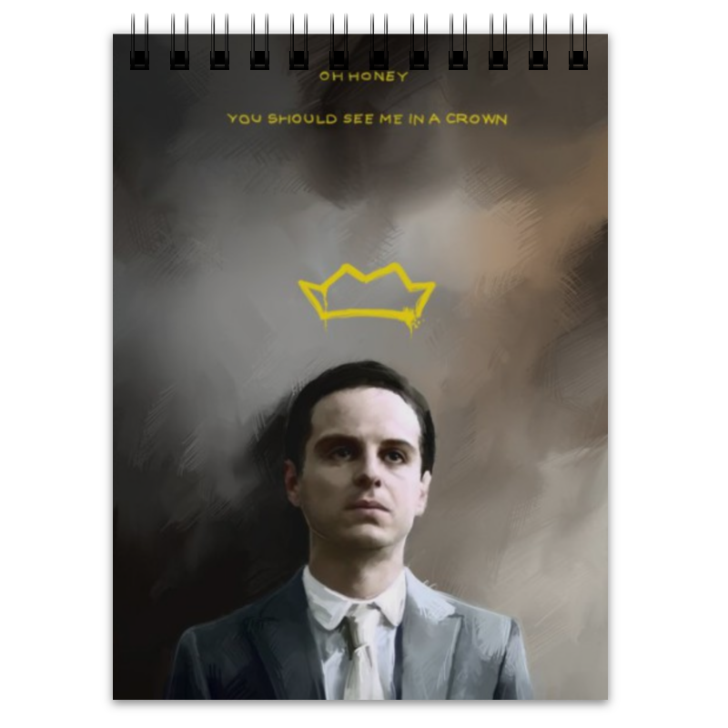 Блокнот Printio moriarty moriarty s the good mother