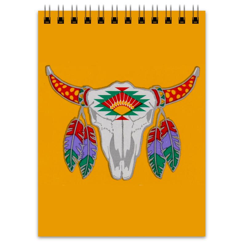 Блокнот Printio Этнический бык