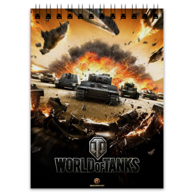 Блокнот Printio World of tanks блокнот printio world of tanks