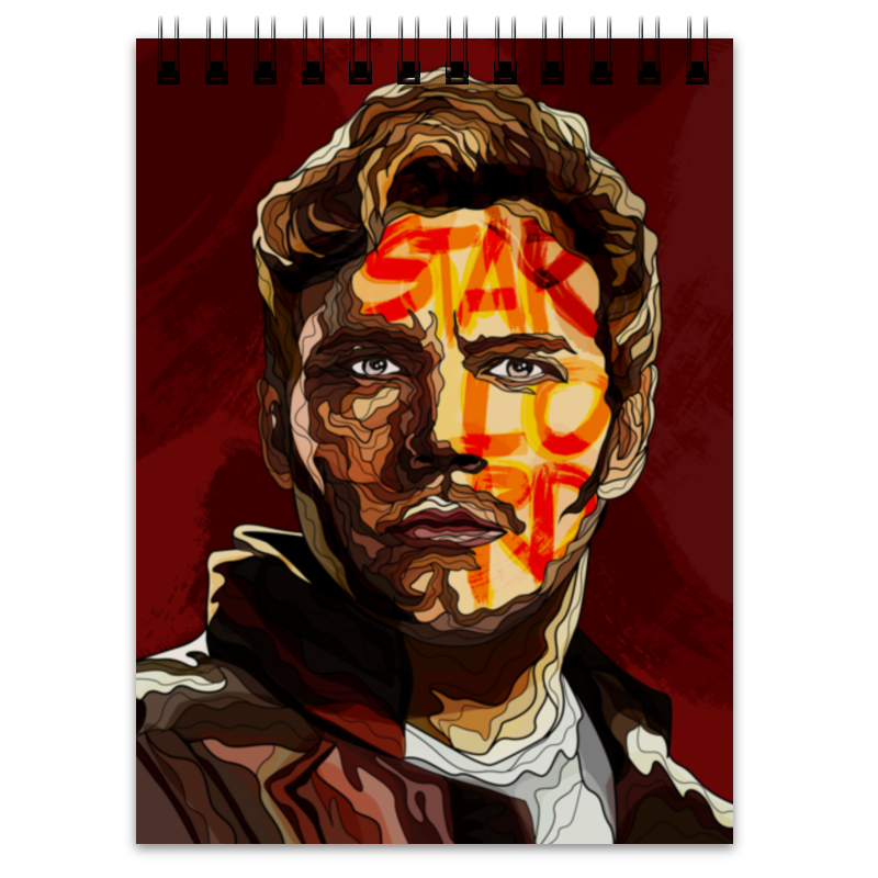 Блокнот Printio Star lord лонгслив printio star lord