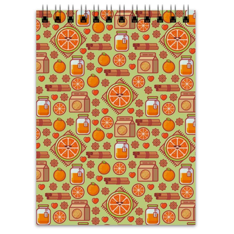 Блокнот Printio Апельсиновый микс delphi конфитюр апельсиновый v halvatzis 370 г