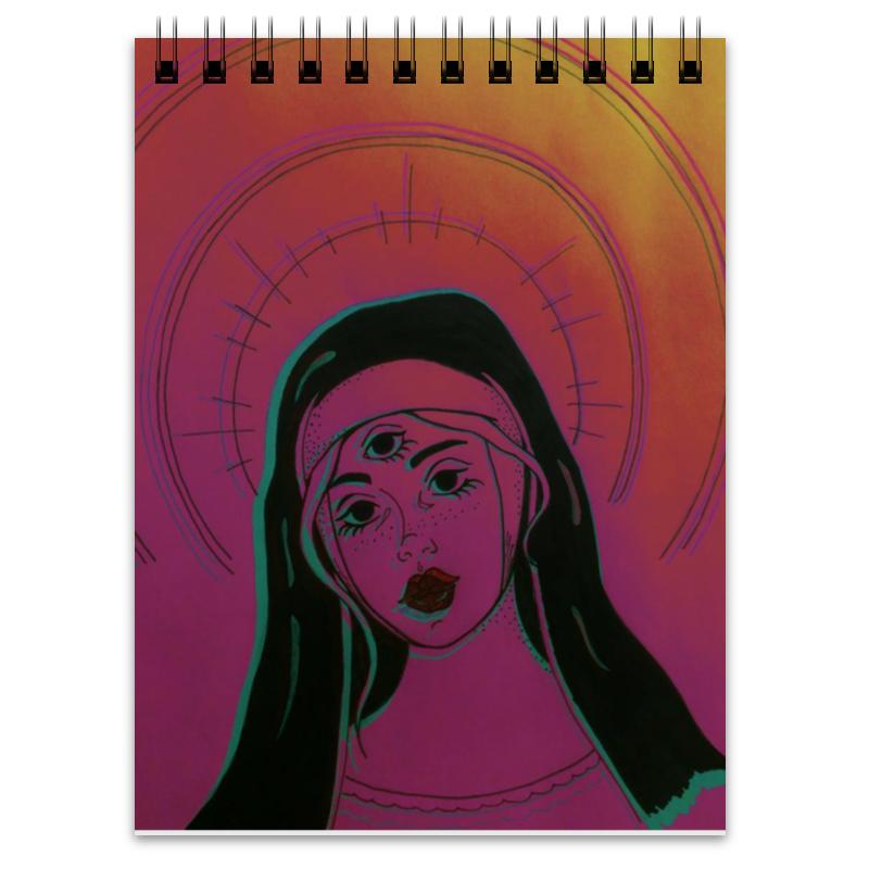 Блокнот Printio Коллекция psyhodelic коллекция
