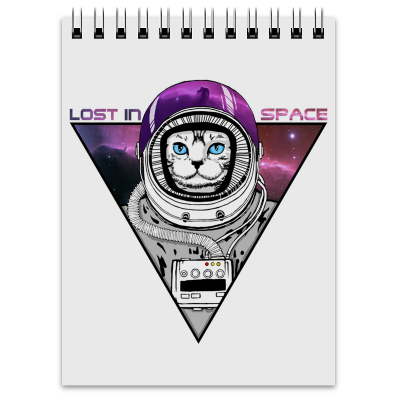 Блокнот Printio Lost  space