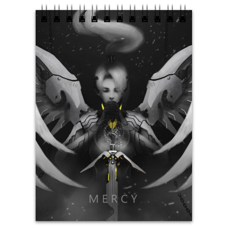 Блокнот Printio Mercy блокнот printio прогулки по городу
