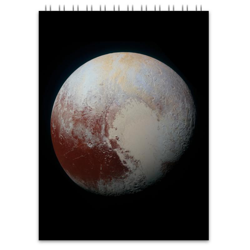 Блокнот Printio Плутон космос блокнот