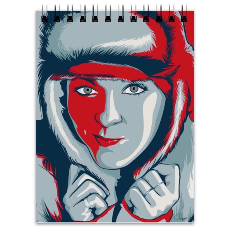Блокнот Printio Russian girl