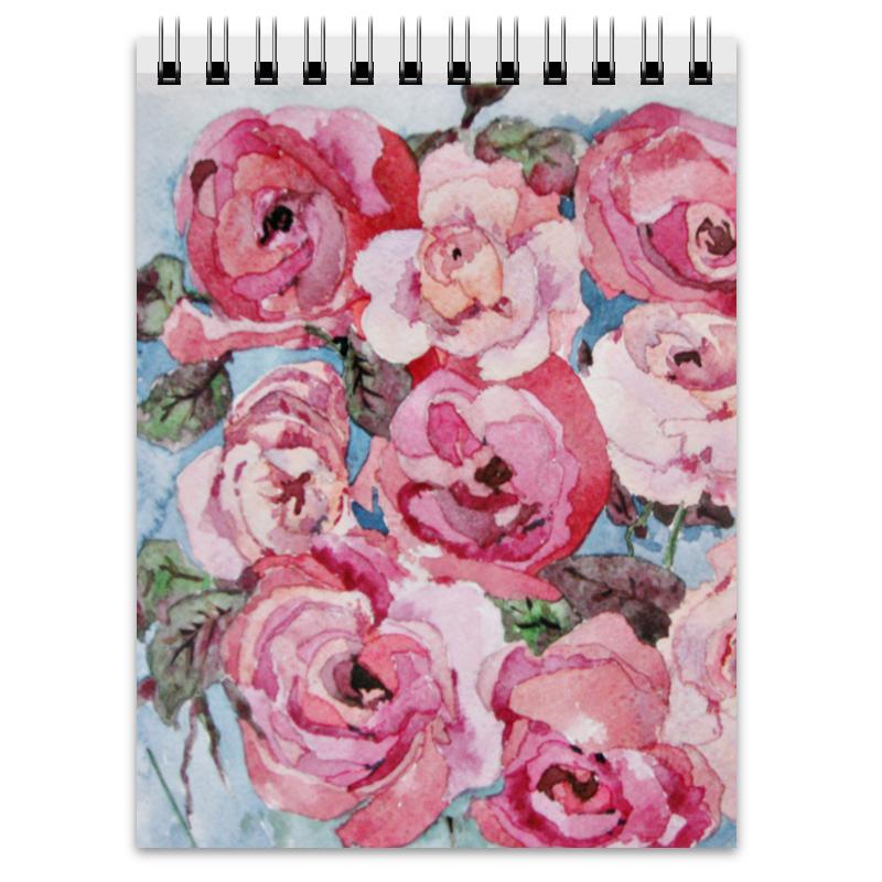 Блокнот Printio Розы. декор все цены