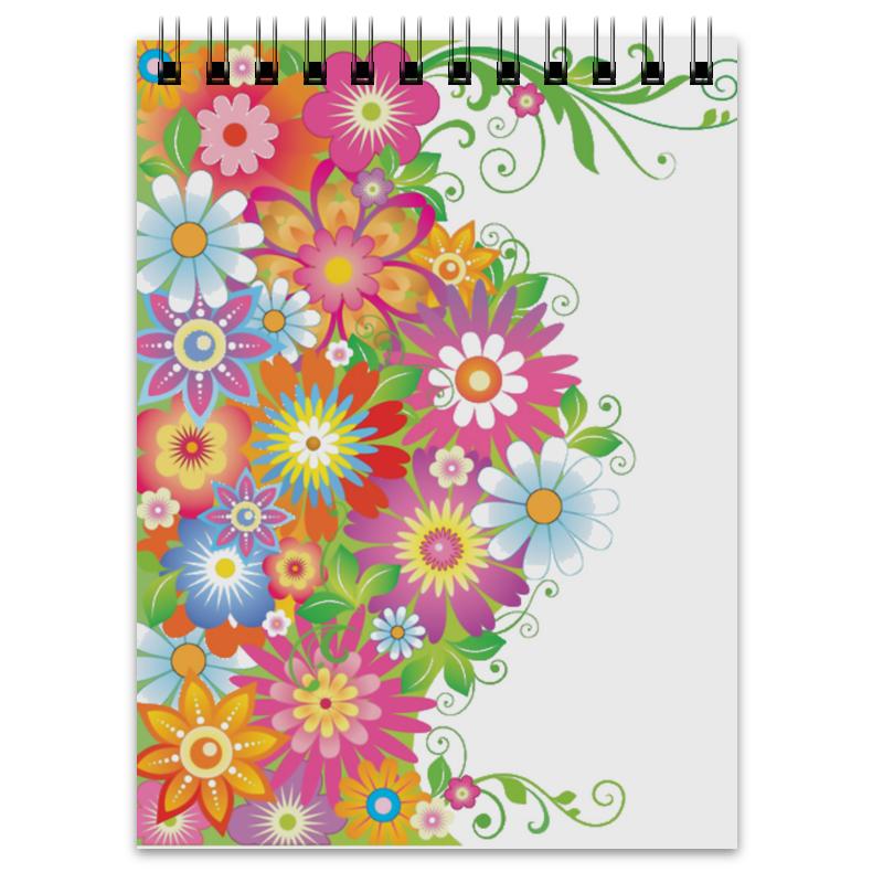 Блокнот Printio Цветы блокнот кофемана нежные цветы