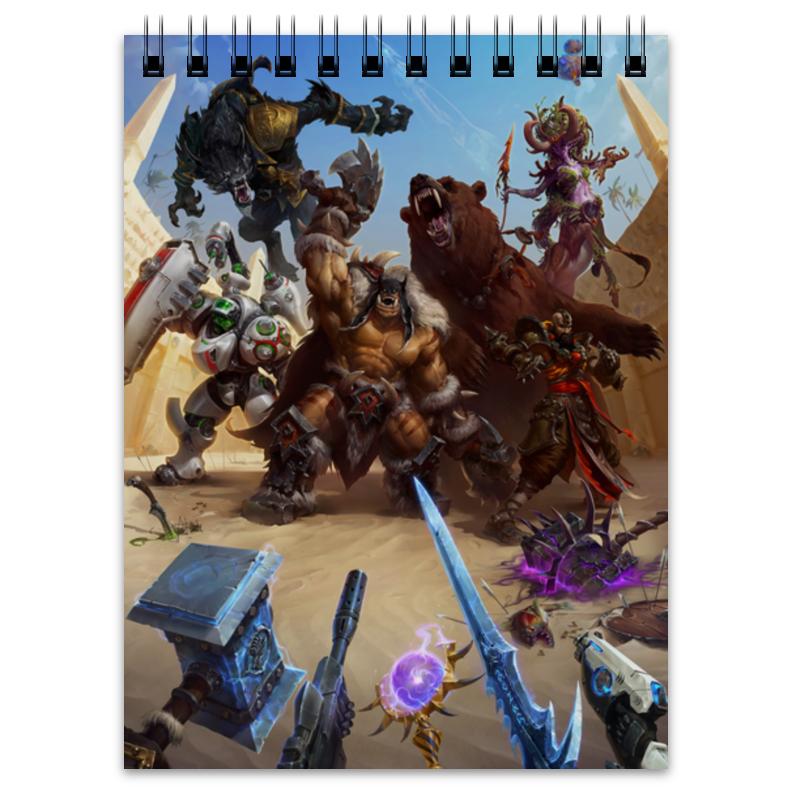 Блокнот Printio Heroes of the storm футболка print bar heroes of the storm nova